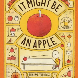 It might be an apple hardback book
